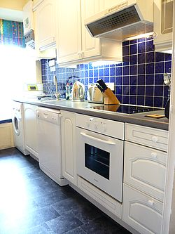 Kitchen of luxury apartments  Edinburgh