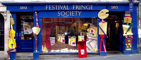 The fringe office is just across the road