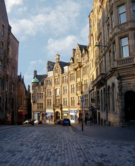 Edinburgh self catering accommodation Royal Mile