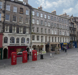 Self Catering Accommodation in Edinburgh